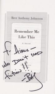 signed author